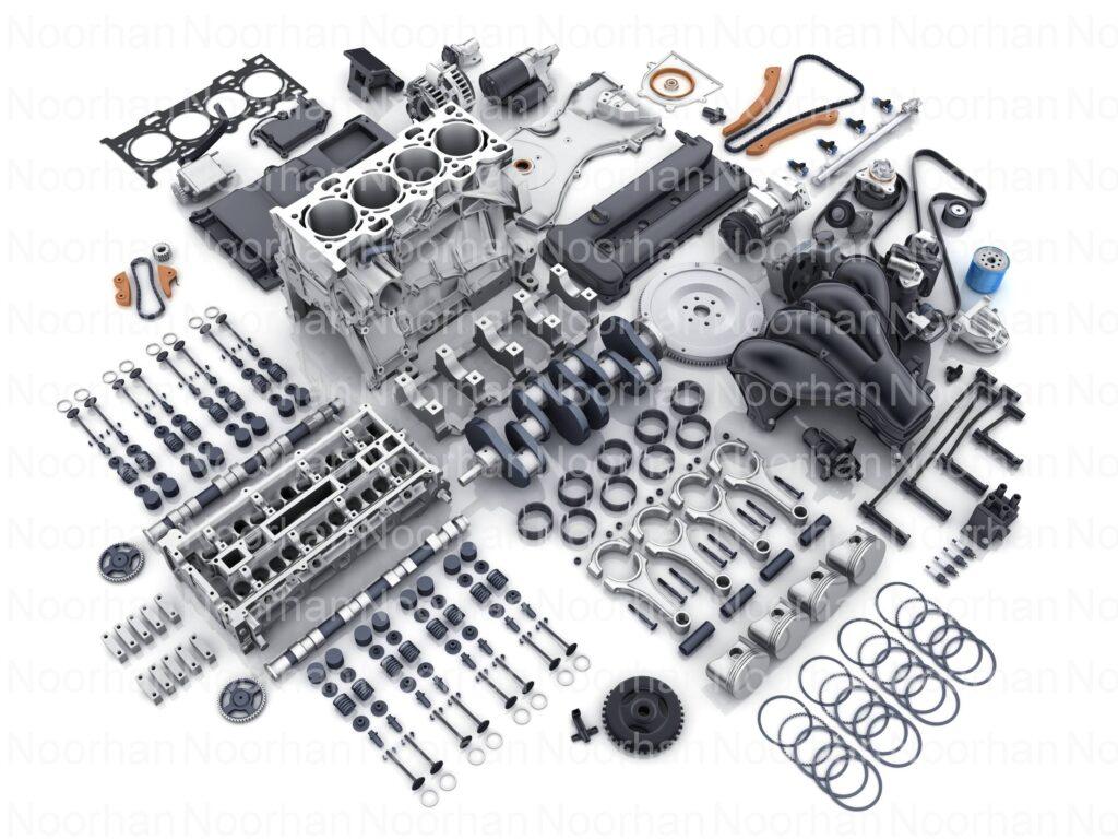 Genuine Spare Parts and Genuine car parts of Car Engine