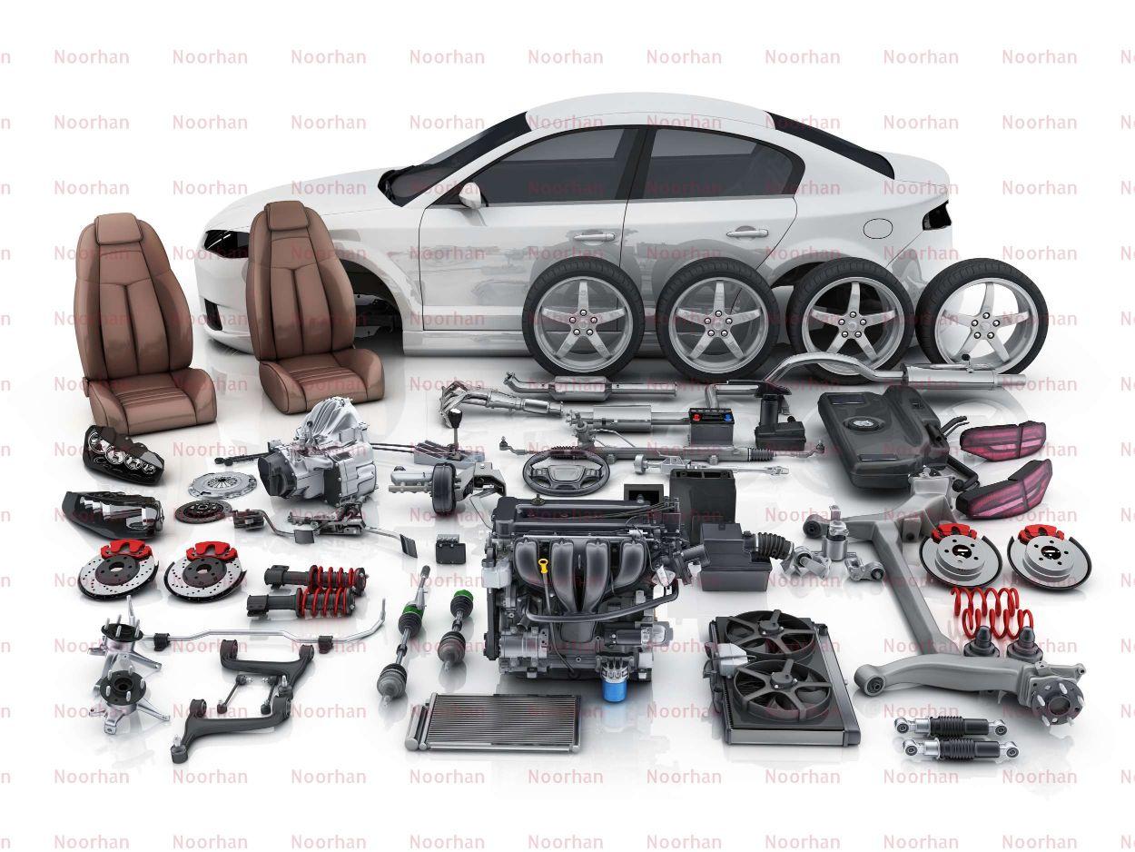 Car Spare Parts - Car Disassembled