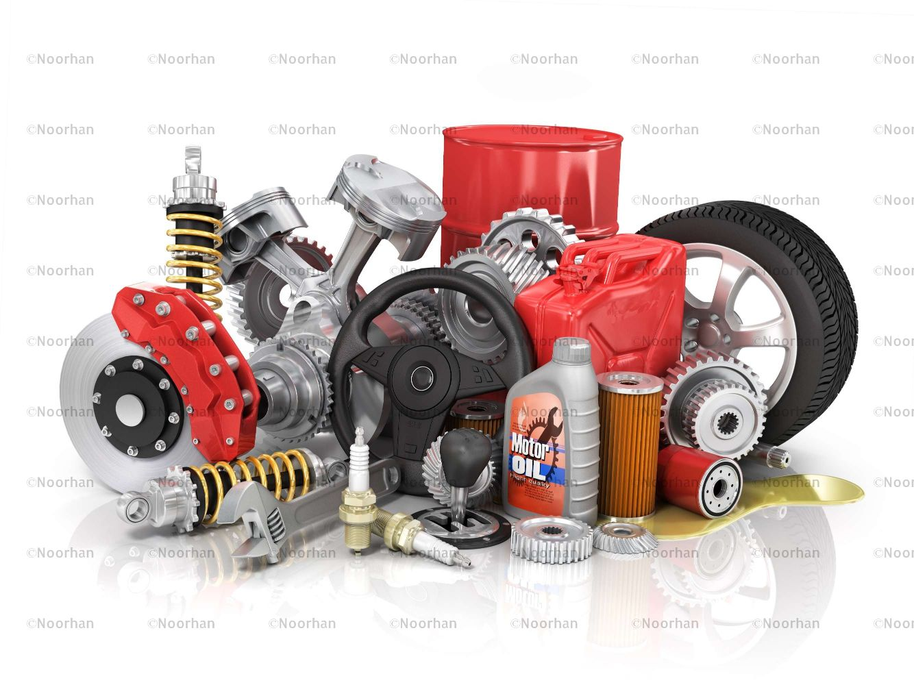 Car Spare Parts - Combined