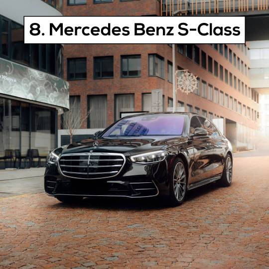 Mercedes Benz S-Class - 10 Most popular cars in Dubai