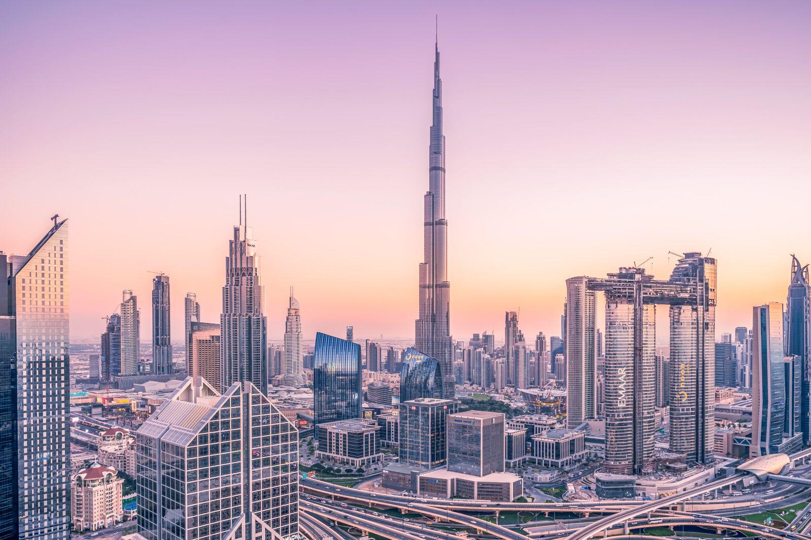 Dubai City Panoramic View