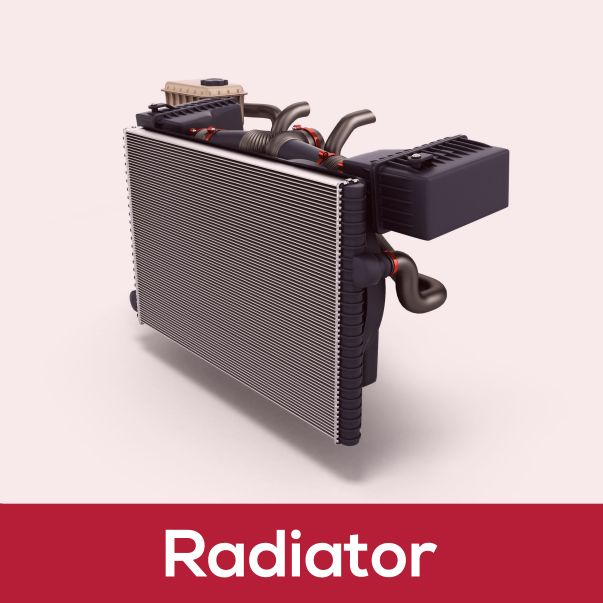 Radiator - Car Spare Parts