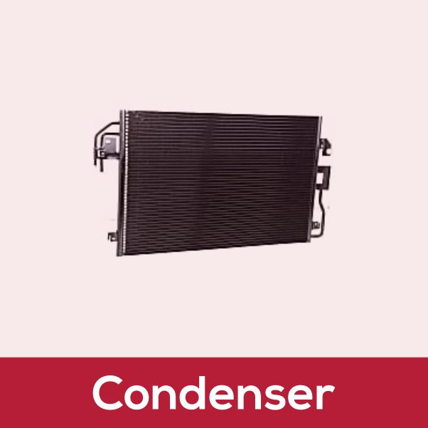 Car Condenser - Car Spare Parts