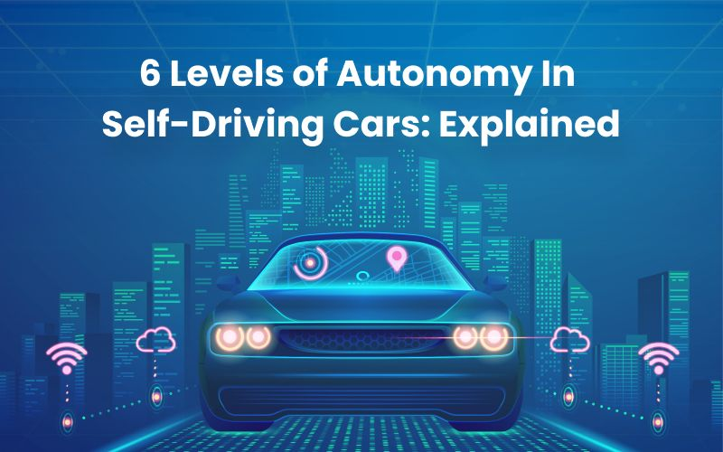 Levels of Autonomy in Self-Driving cars