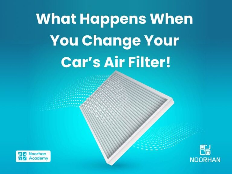 Change your cars air filter